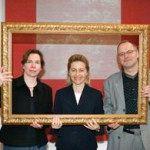 Bündniskoordinatoren Ute Nennecke und Roland Geiger mit der Bundesfamilienministerin Ursula von der Leyen (2006)