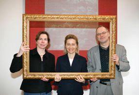 Bündniskoordinatoren Ute Nennecke und Roland Geiger mit Bundesfamilienministerin Urasula von der Leyen (2006)